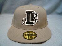 New Era 59fifty Durham Bulls Sz 7 1/8 BRAND NEW Fitted cap hat MiLB Baseball