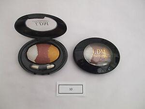 Ludanmei Terracotta Eyeshadow/Blusher Large Trio 10 Mix New