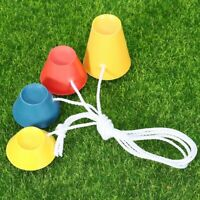 4Pcs Rubber Winter Golf Tees Colored with Different Heights Ideal for Frosty Day