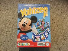 Pre Owned Disney Mickey Mouse Clubhouse Edition Yahtzee Jr.  See Pictures.