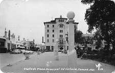 Tamaulipas Mexico Costado Plaza Principal Real Photo Antique Postcard J48316