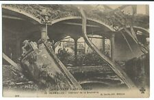 WW1 Ruins, Vermelles, Interior of Brewery PPC, Unposted, By H David