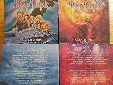 4CD SET DEEP PURPLE - GREATEST BEST HITS -PART 1[2CD] / PART 2 [2CD]