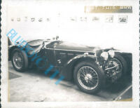 1960's Classic Car Dealers Showroom Stock Photo 1930's sports car Reg CVM208 4x3