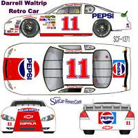 CD_1371 #11 Darrell Waltrip  Retro Pepsi Chevy Fantasy car  1:64 scale DECALS