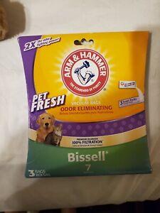 Arm & Hammer Bissell 7 Premium Allergen Pet Fresh Vacuum Cleaner Bags 3