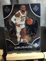 🔥Lebron James🔥Panini Chronicles #522 Crusade Los Angeles Lakers 🔥🔥🔥🔥