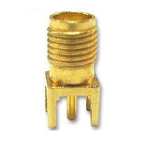 n° 4 pezzi Connettore 50 Ohm SMA dritto da circuito stampato - 4 pieces sma PCB