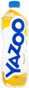 YAZOO Banana Milk Drink 1 Litre Pack of 6