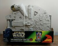 Star Wars 1998 POTF2 Millennium Falcon Carry Case With Wedge Antilles New