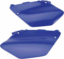 UFO Blue Side Panels Number Plates For Yamaha YZ 125 250 02-13  YA03847-089