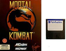 "MORTAL KOMBAT : floppy disc 3,5"" Commodore Amiga backup game disk (READ)"