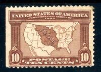 USAstamps Unused FVF US 1904 Louisiana Purchase Scott 327 OG MHR