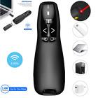 For PC Power point Presentation Remote Wireless Presenter Laser Pointer Clicker