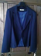 Ladies Navy Pin Stripe Suit by George