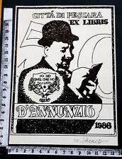 "EXLIBRIS 76 "" SIBIU / ROMANIA "" - * ILIE EUGEN SAUCHEA * - X SIGNED !"