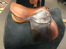 """Pessoa Close Contact Saddle, 15.5"""" Seat, 5"""" Gullet, Great Condition!"""