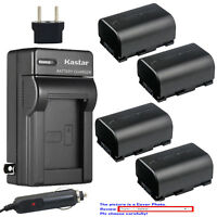 Kastar Battery AC Charger for JVC BN-VG107 JVC Everio GZ-HM980 Everio GZ-HM990