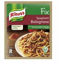 12 x KNORR FIX SPAGHETTI BOLOGNESE - GERMAN COOKING - ORIGINAL FROM GERMANY