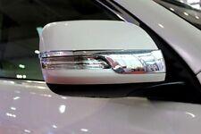 Chrome mirror side molding cover trim For Toyota Prado FJ150 2010 2011 2012-2018