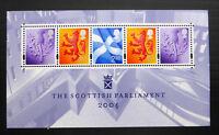 GB 2004 Commemorative Stamps~Scottish Parliament~ M/S~Unmounted Mint Set~UK