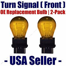 Front Turn Signal Light Bulb 2pk - Fits Listed Oldsmobile Vehicles - 3057A