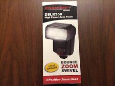 Precision Design DSLR350 High Power Auto Flash for Digital SLR Cameras