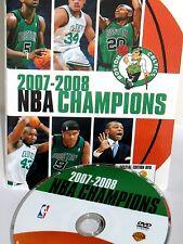 NBA Champions 2007-2008 Boston Celtics NEW! DVD, Playoffs,Finals Lakers,Gernett