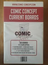 More details for 100 x current size comic concept comic book backing boards