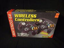 "Nintendo 64 Wireless Controllers Doc's Vibration ""Quake & Shake"" New in Box"