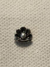 Origami Owl Pearl In Oyster Charm Retired