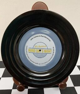 """Sony ATV Tunes LLC """"It's Been A Hard Day's Night"""" Beatles Promotional Plate Rare"""