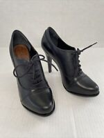 Schutz Ankle Booties With Laces And Stilleto Size 7 EUC