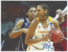 Mercedes Russell Signed 8 1/2 x 11 Photo Seattle Storm Wnba Basketball Lady Vols
