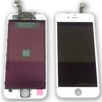  DISPLAY APPLE IPHONE 6 BIANCO ORIGINALE RIGENERATO SCHERMO LCD RETINA TOUCH 