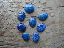 Cabochon Gemstone Lapis Grade B  8x10mm  (Qty 24)
