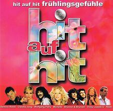 Frühlingsgefühle - Hit ...2 CD Neu Helene Fischer Moonbeats Nino De Angelo Reim