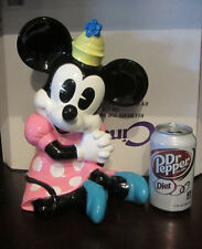 RARE Disney LARGE HUGE Mickey Minnie Ceramic Porcelain Figure Figurine Statue