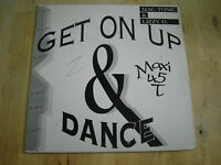 maxi 45 tours mac tonic & lizzy d. get on up & dance