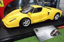 FERRARI ENZO  jaune 1/18 HOT WHEELS MATTEL C1550 voiture miniature de collection