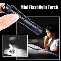 50000LM Mini LED Penlight Flashlight Torch Clip Pocket Waterproof US