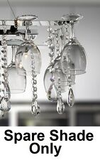 * Spare Shade* for Marco Tielle / Searchlight Vino Wine Glass Chandelier