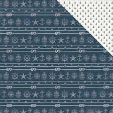 kaiser Craft High Tide 12  X 12 Inches  Double Sided Patterned Paper  Mast