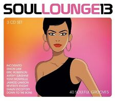 SOUL LOUNGE 13 (BLUEY, HESTON, TONY MOMRELLE,...) 3 CD NEU