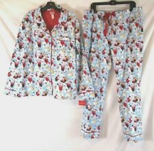 Ladies size S Christmas summer pyjamas Reindeer glitter all the way Target  NEW