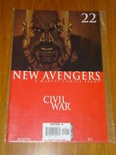 NEW AVENGERS #22 MARVEL COMIC NEAR MINT CIVIL WAR SEPTEMBER 2006
