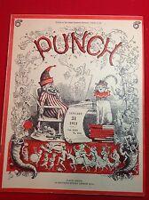 Vintage : PUNCH Magazine : 31st January 1951