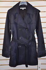 Women's DKNY Double Breasted Trench Coat W/Detachable Hood. Sz.PXL(Petite) $200
