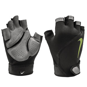 Nike AC4367-055 Fitness Gloves Men Elemental Mid-Weight Training GYM Black