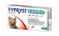 Fypryst Combo spot-on fleas ticks & worms treatment 2-10 kg small dogs 0.67 ml